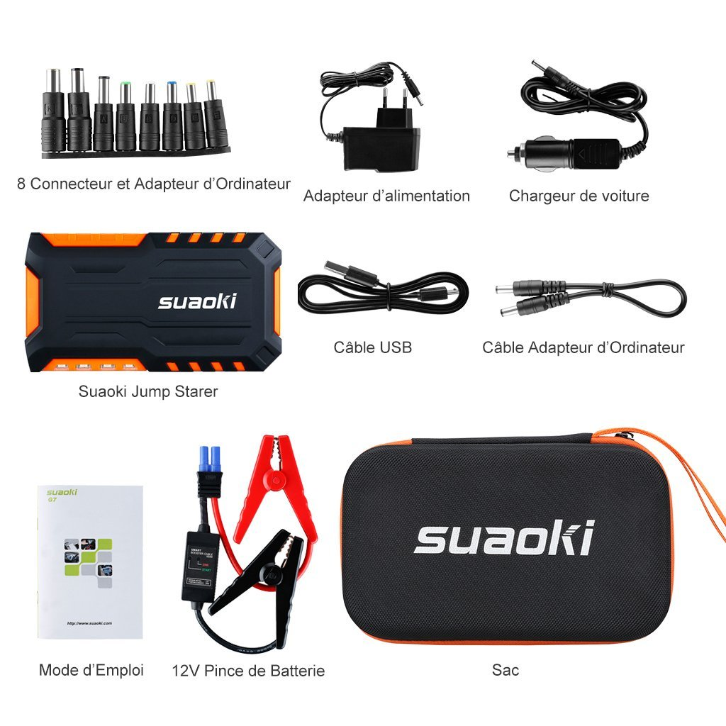 suaoki-G7-booster-batterie