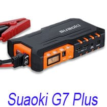Suaoki G7 plus booster de batterie