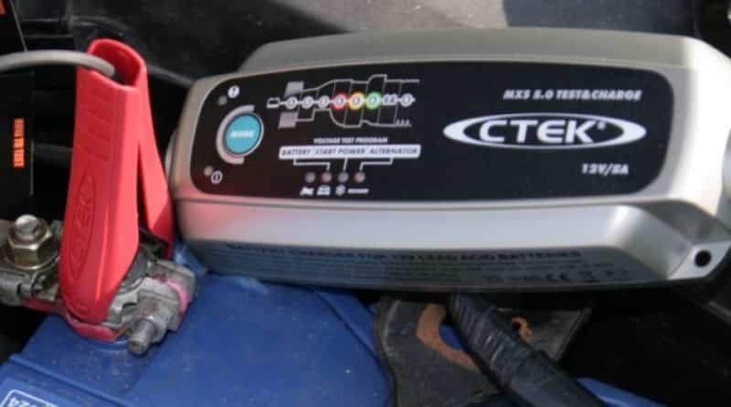 CTEK MXS 5.0 chargeur de batterie