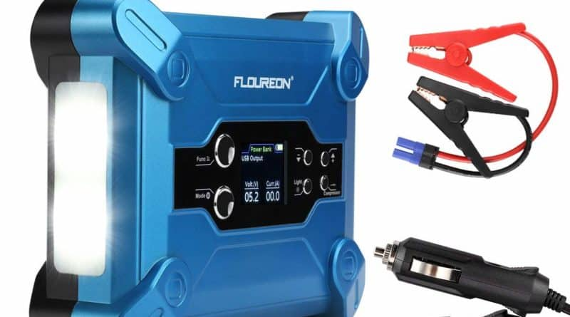 FLOUREON W100 Booster de batterie