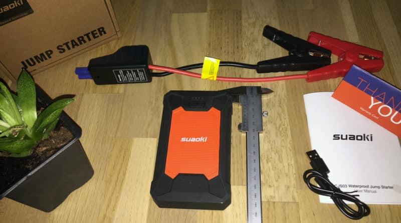Suaoki CJS03 booster de batterie 600A
