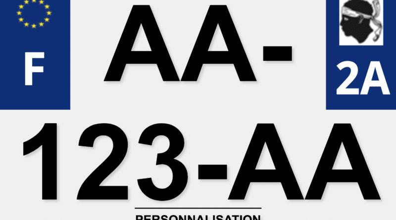 Personnalisation et Réglementation des plaques d'immatriculation ?