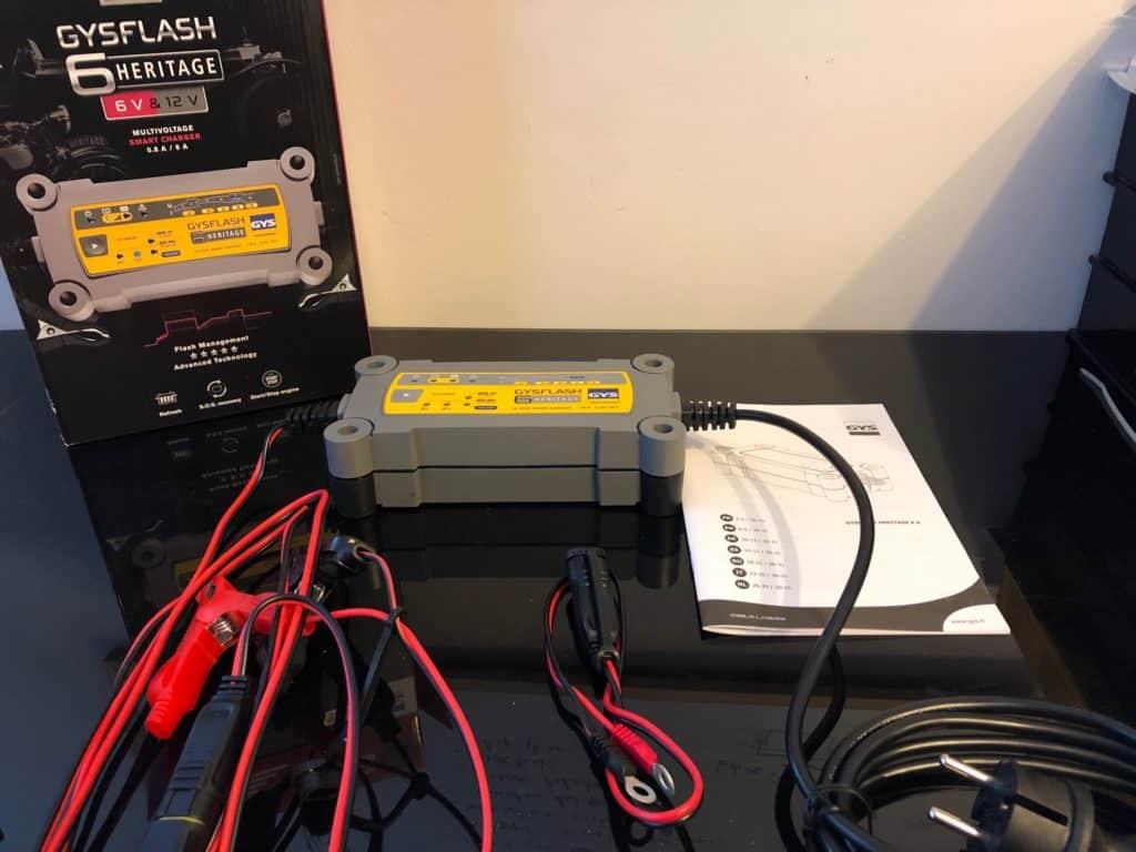 chargeur-de-batterie-GYSFLASH-deballage