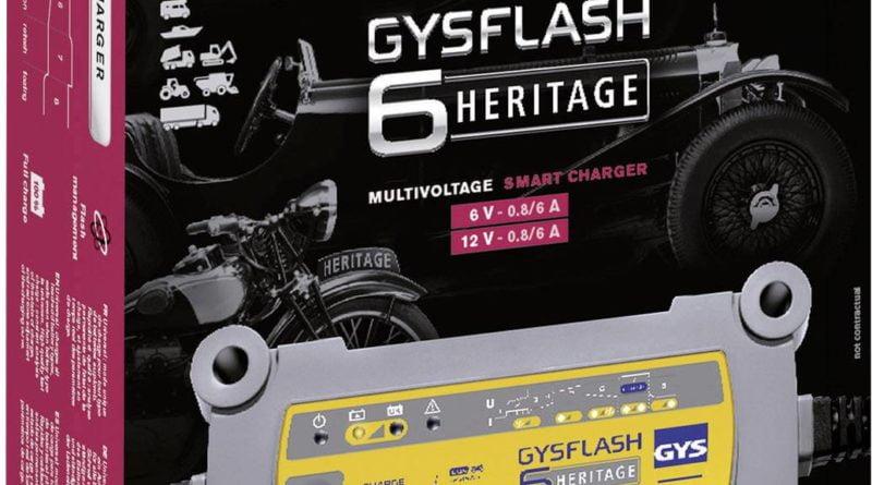 GYSFLASH HERITAGE 6 A chargeur de batterie