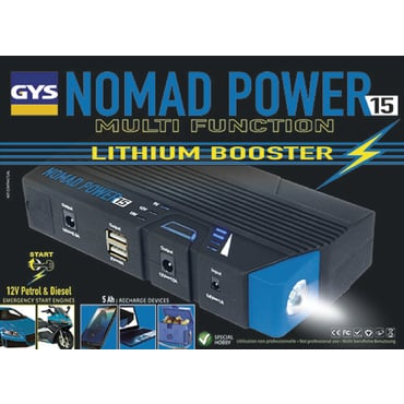Nomad Power 15 Booster de batterie